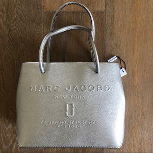 BRAND NEW Marc Jacobs Silver Purse